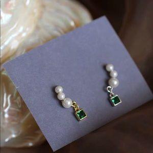 ↗️925SILVER↗️ 17Basics GRACELYN Earrings SILVER